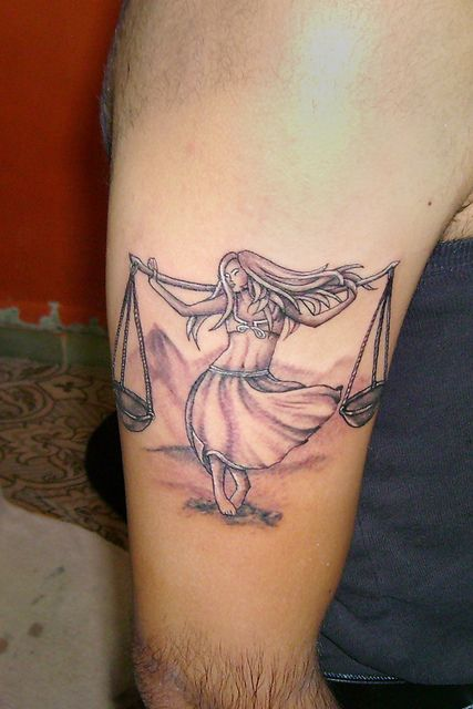 Libra Tattoo Concept Designed And Inked By Sunny At B Tattoo