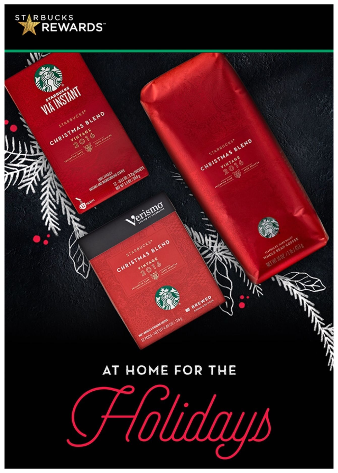 christmas blend coffee from starbucks for the holidays