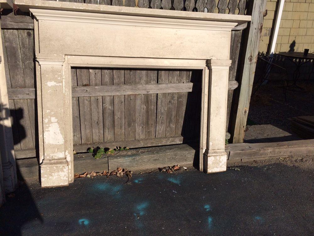 Pair Antique Federal fireplace mantels Newport Rhode Island ...