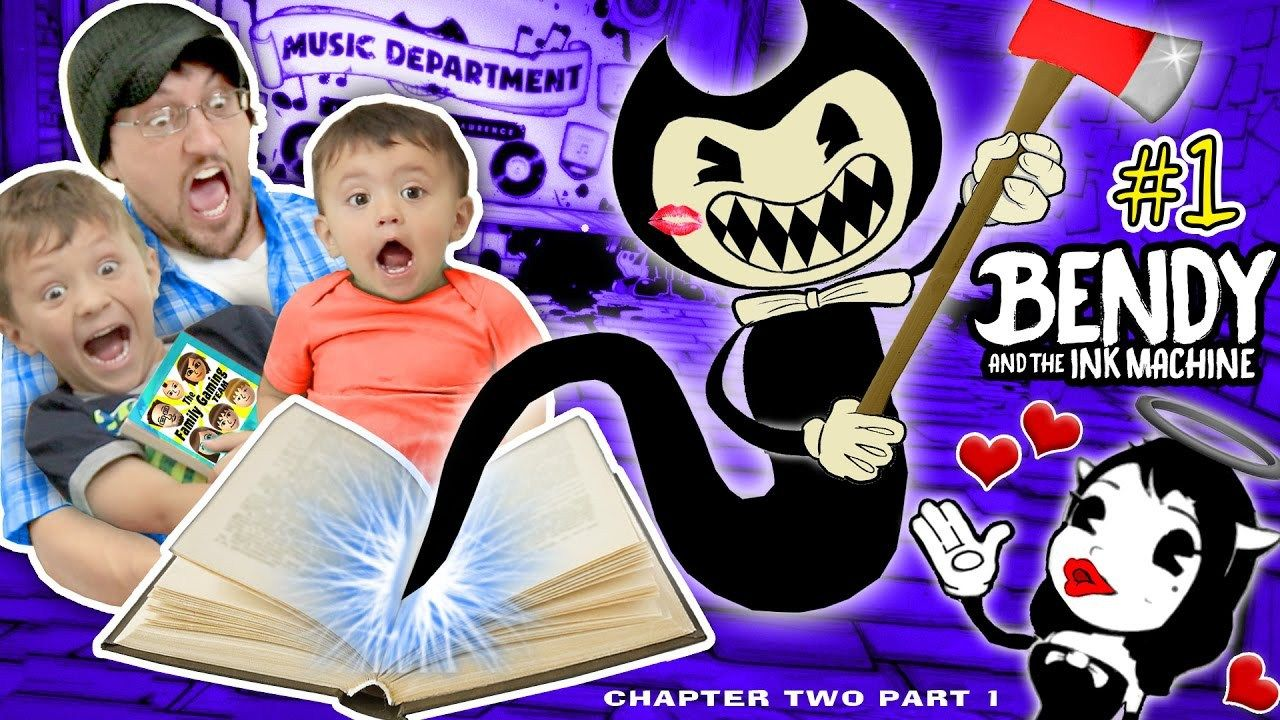 Don T Scare My Baby Bendy And The Ink Machine 2 Chapter Two