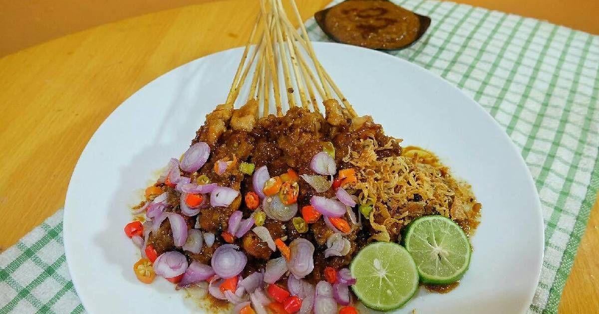 Resep Sate Ayam Madura Bumbu Kacang Oleh Adelia Sharfina Resep Kacang Resep Ayam