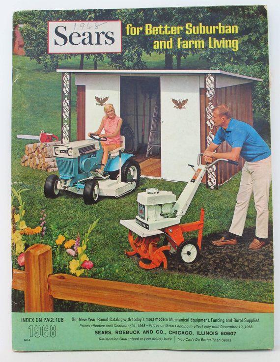 Sears Catalog Farm Catalog 1968 Country by