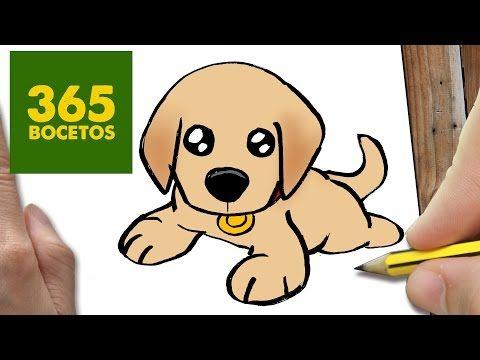 Como Dibujar Un Perro Bulldog Paso A Paso Os Ensenamos A Dibujar Un Perro Facil Para Ninos Youtub Como Dibujar Un Perro Perritos Para Dibujar Dibujos Kawaii