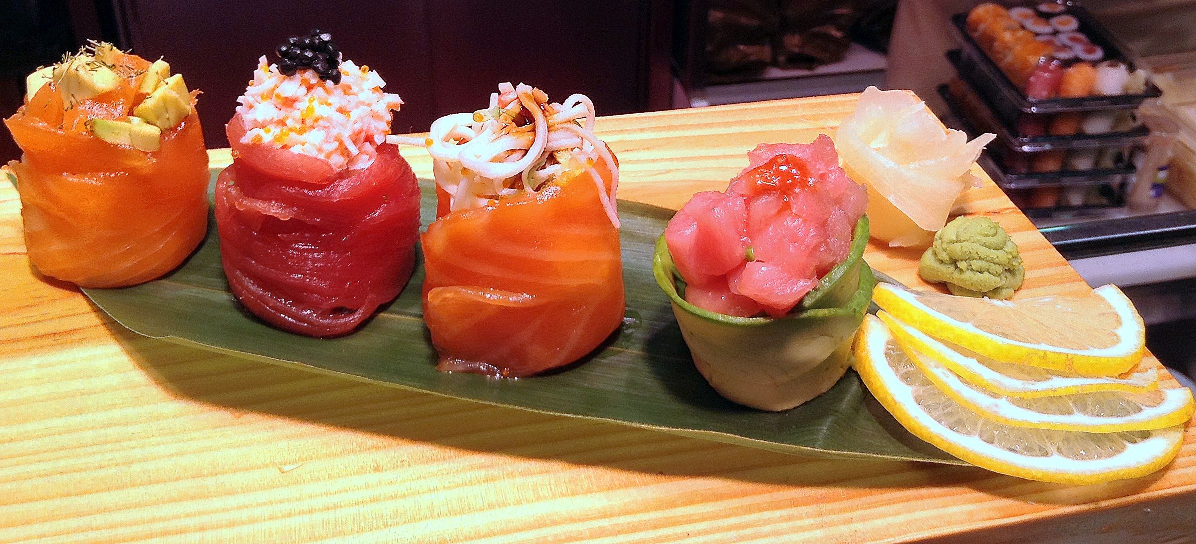 #Sushi Pescadería Ernesto Prieto #MercadodeChamartin #Madrid #Pescadería #Comidaparallevar