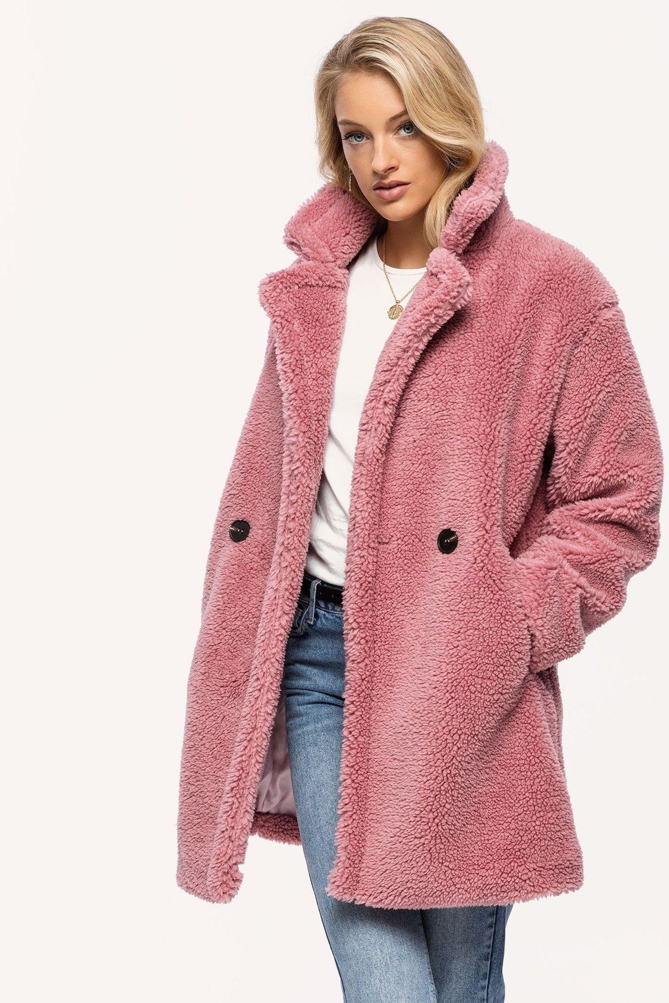 CoatSpring In Pink Summer Loavies Teddy wPvmn0OyN8