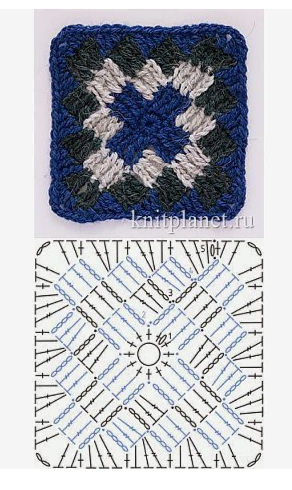 Pin de Fatmagul Medina en Patterns | Pinterest | Cuadrados ...