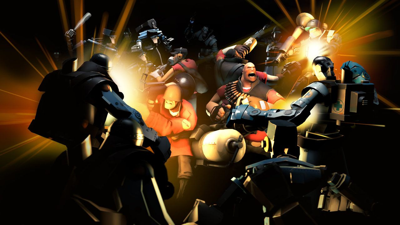 Mvm Games Teamfortress2 Steam Tf2 Steamnewrelease Gaming Valve Team Fortress 2 Team Fortress 4k Background