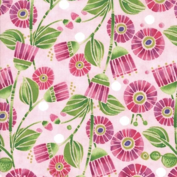 Moda SWEET PEA AND LILY Lavender 48641 14 Quilt Fabric By The Yard Robin Pickens