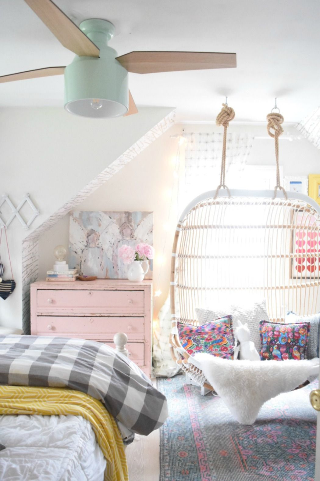 Modern Ceiling Fans | Blogger Home Projects We Love | Kids bedroom ...