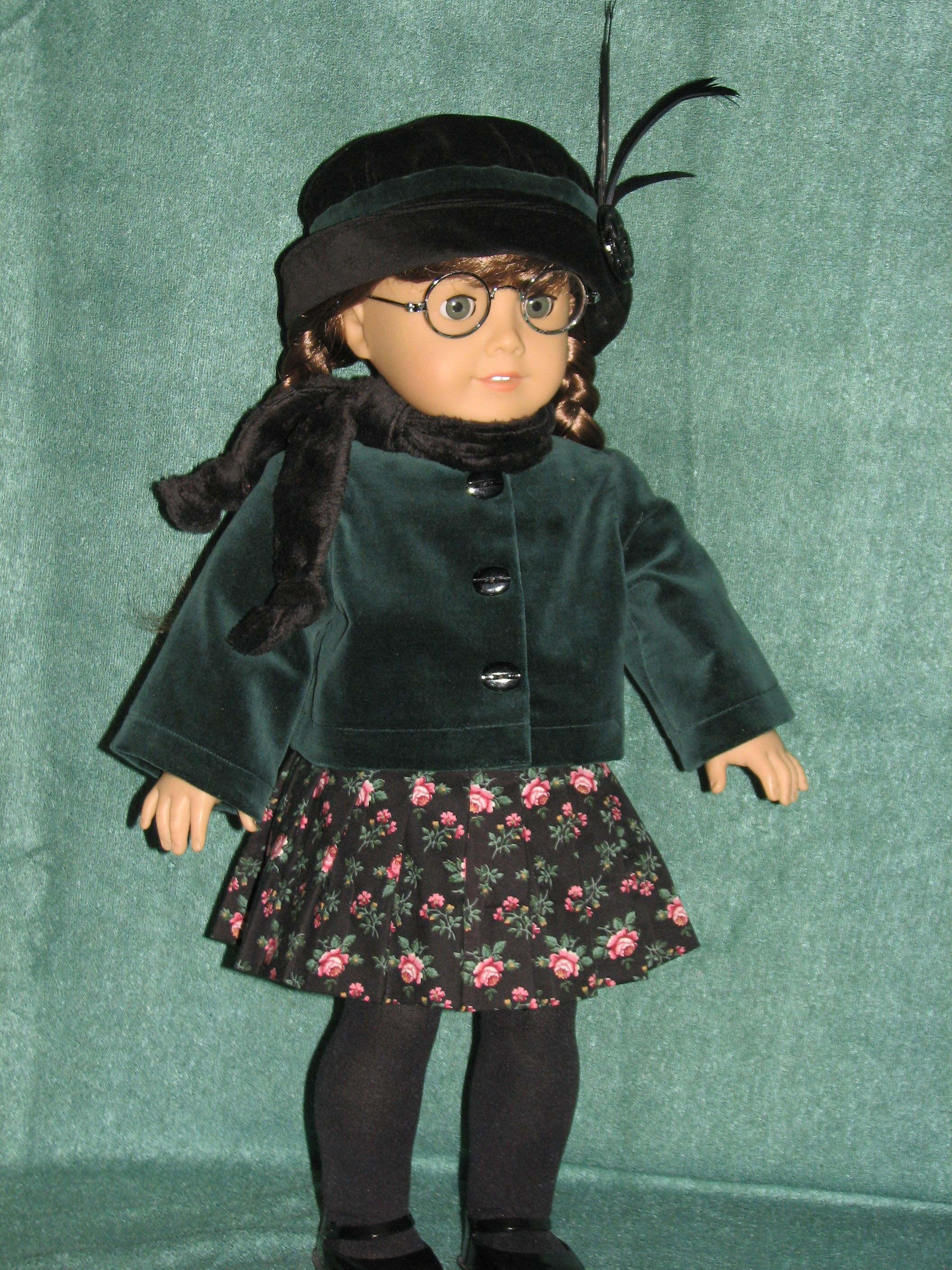 Velveteen outfit - Doll Clothes By Shirley SOLD