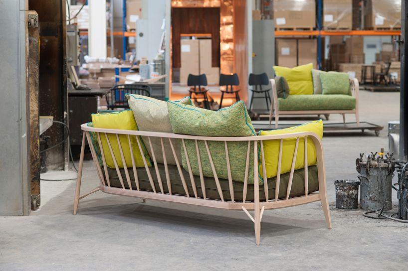 Marvelous Paola Navone Nest Sofas Ercol Maisonobjet Designboom