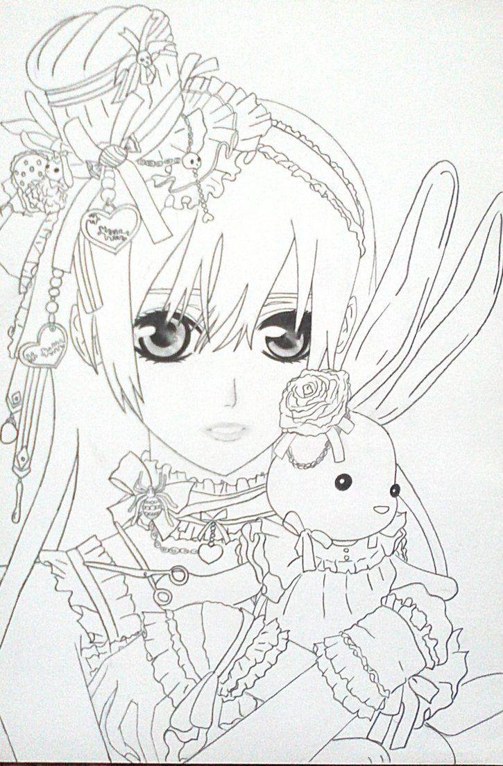 Vampire Knight Yuki Chibi Coloring Pages Coloring Pages Vampire Knight