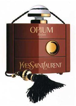 1977 год стал знаковым для любителей восточных ароматов — модный Дом Yves Saint Laurent презентовал свой культовый парфюм – Opium. Весьма провокационное название должно было намекать на губительную, колдовскую власть, на роковую страсть, которую вызывает аромат. Духи с такой высокой концентрацией алкоголя ранее не выпускались.