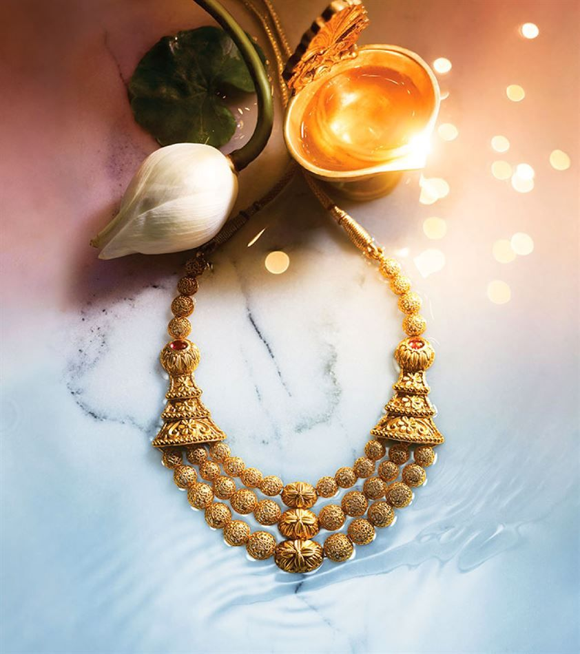 Catalogue of offers from tanishq antiq jewellery in