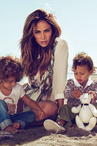 Jennifer Lopez and Twins