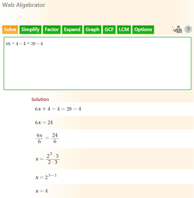 How To Use Quickmath Simplify Calculator Simplifycalculator Algebra Calculator Math Problem Solver Solving Word Problems