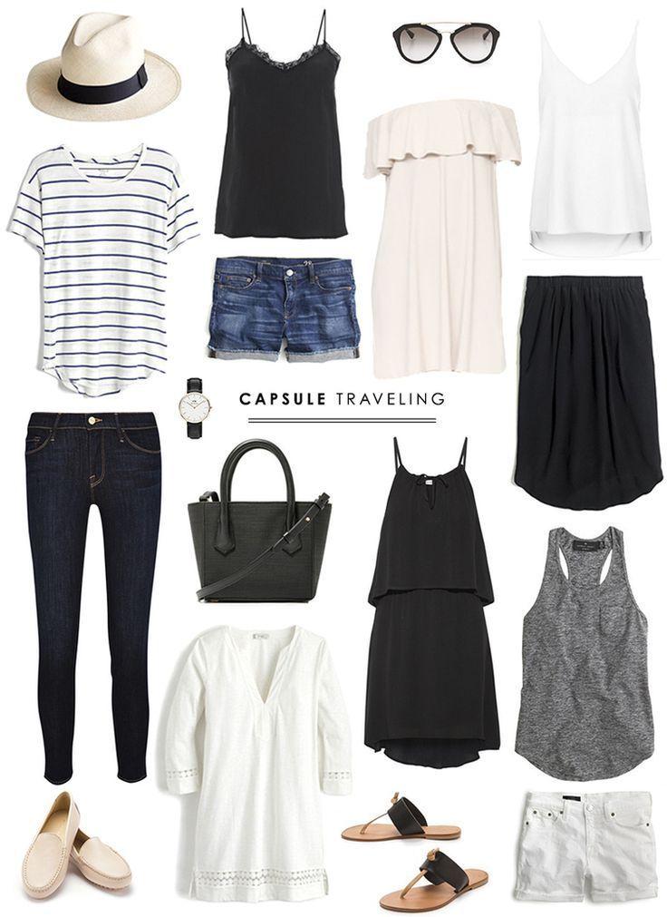 Capsule Traveling The Basics Danielle Moss | Capsule Wardrobe | Pinterest | Travel Wardrobe ...
