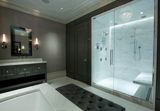 luxury showers google search