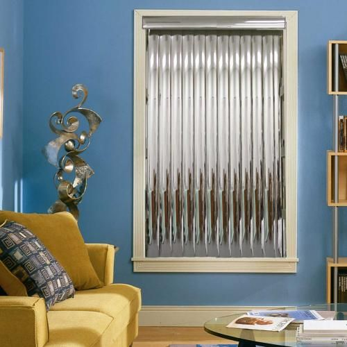 I Ve Never Seen Cool Mirrored Vertical Blinds Like These
