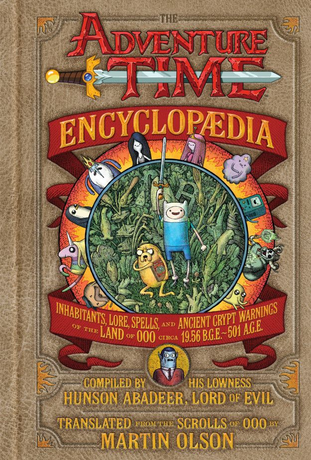 The Adventure Time Encyclopaedia, for the Lumpy Space Princess in your life.   37 Incredibly Awesome Books To Give This Year. could be a good gift for Em