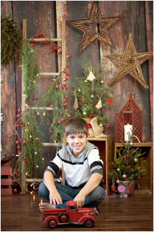 Simply Christmas Love This Photography Backdrop From Baby Dream Backdrops Cenario Natal Fotos De Natal Sessao De Natal