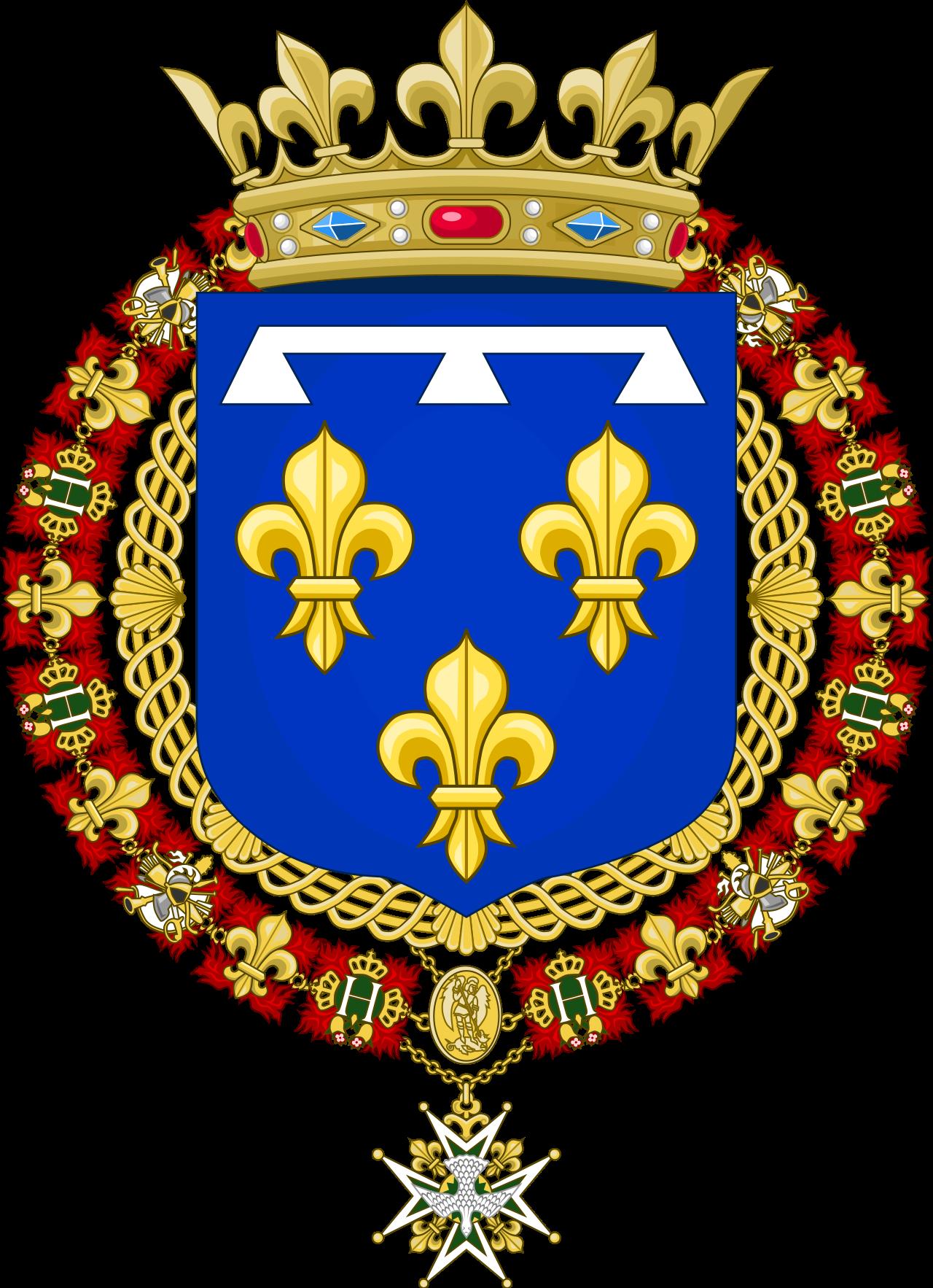 Risultati immagini per duke of orleans coat of arms