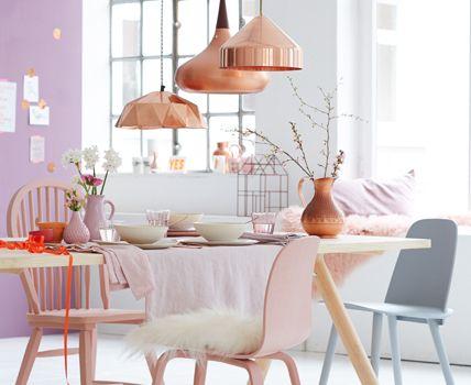 deco trend: copper and pastel tones // dekotrend: kupfer und, Esszimmer dekoo