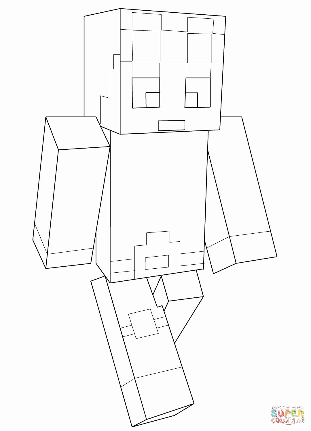 Printable Minecraft Coloring Pages New Minecraft Dantdm Coloring Page In 2020 Printable Coloring Pages Minecraft Coloring Pages Lego Coloring Pages