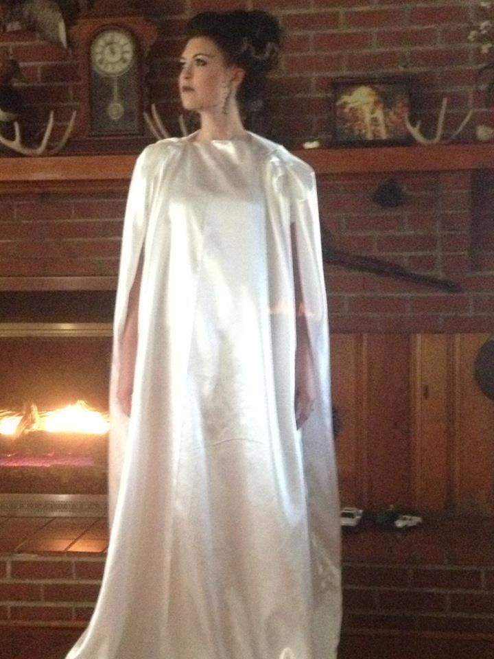 Bride of Frankenstein costume \u2026 Halloween Magic, Homemade