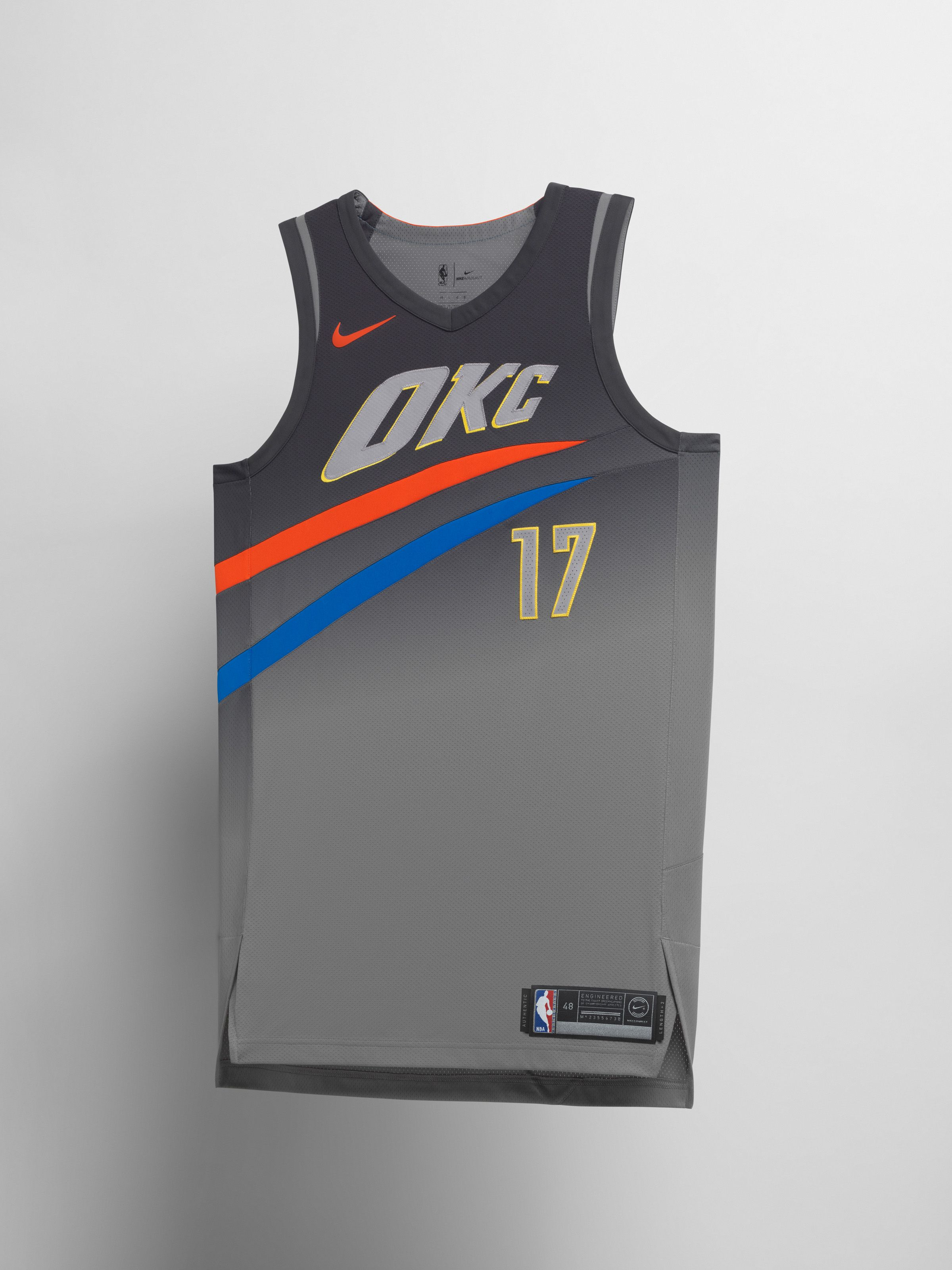online store 397b4 b8fae Oklahoma City Thunder | basketball jersey | Nba uniforms ...