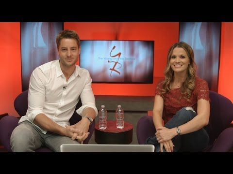 The Young and The Restless - Connect Chat feat. Melissa Claire Egan and Justin Hartley - YouTube