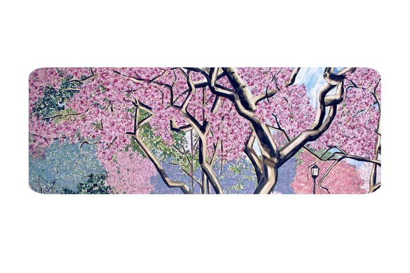 Cherry Blossoms Yoga Mat Blossom Design Cherry Blossom Art Shop