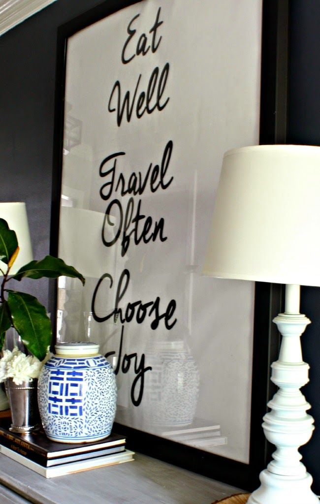 Large Foyer Quotes : The foyer eat well travel often choose joy