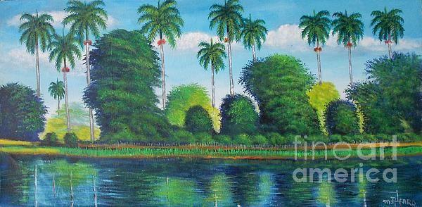 Cuban Landscape San Jose De Las Lajas Canvas Print Canvas Art By