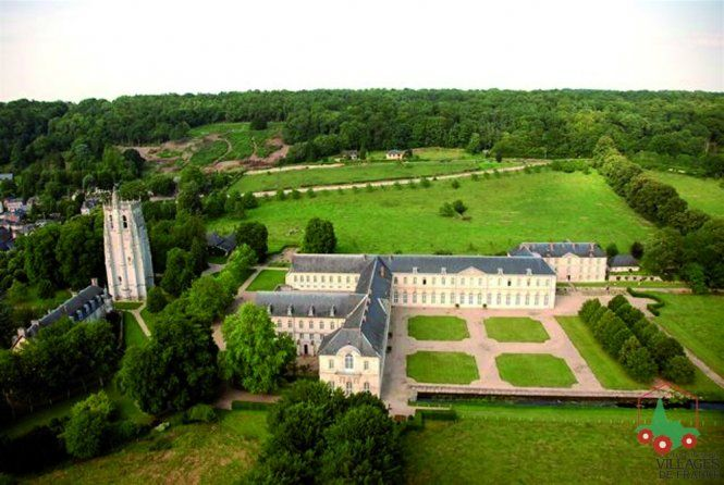 L Abbaye Du Bec Hellouin In Normandy France Home Of Benedictine