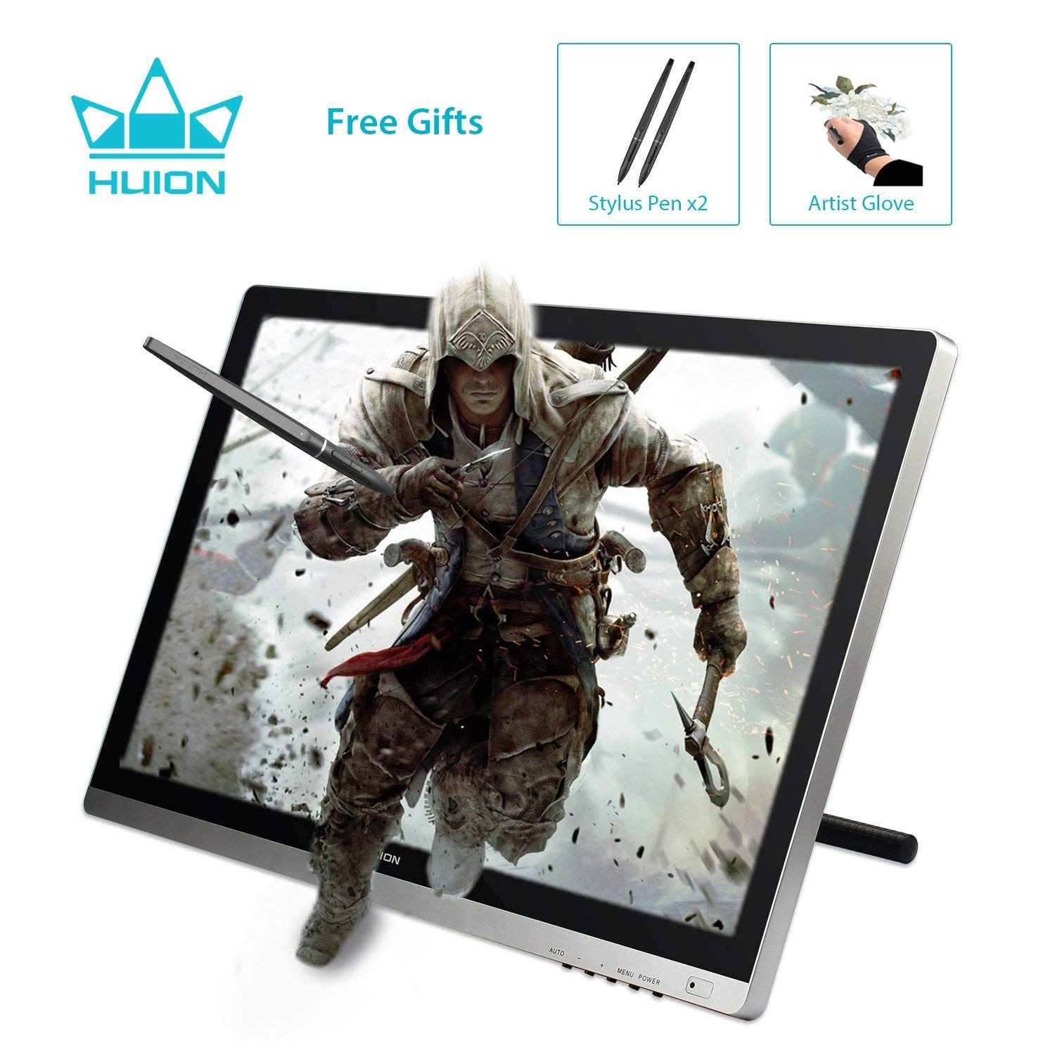 Huion GT-220 v2 Drawing Pen Display 21 5 Inch IPS Tablet Monitor