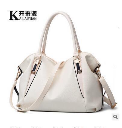 100% Genuine leather Women handbags 2018New bag ladies classic casual  fashion handbag Crossbody Bag female b59238b9d904