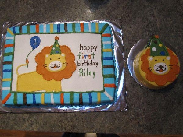 first birhtday cake