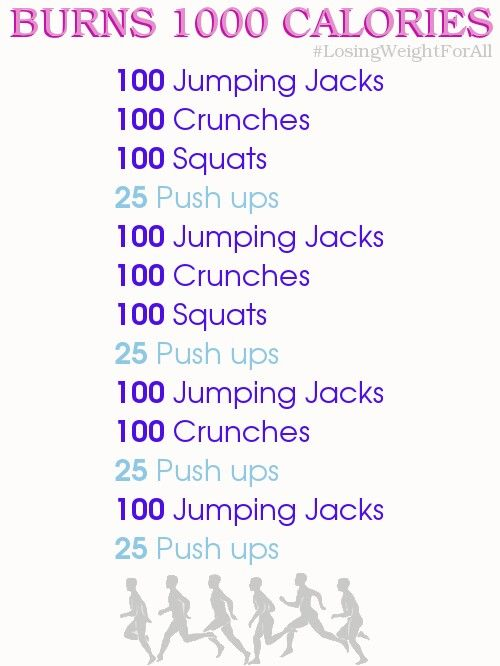 Let's do this!! Easy way to burn 1000 calories in a day ...