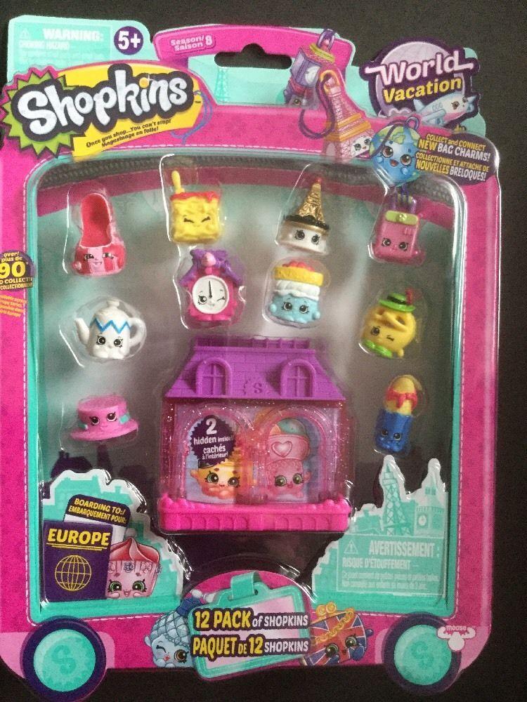 Shopkins Season 8 World Vacation EUROPE  12 Pack Limited  NEW