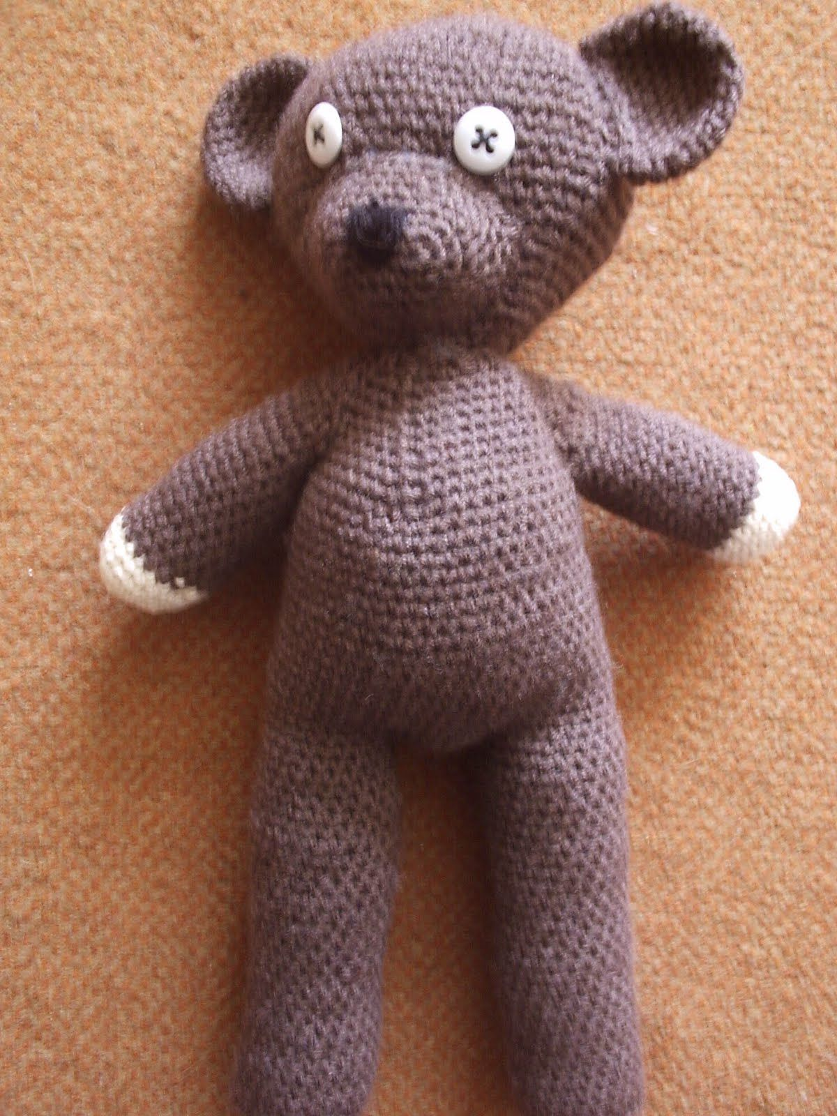 Crochet Mr Beans Teddy Bear Mr Bean Pinterest Amigurumi