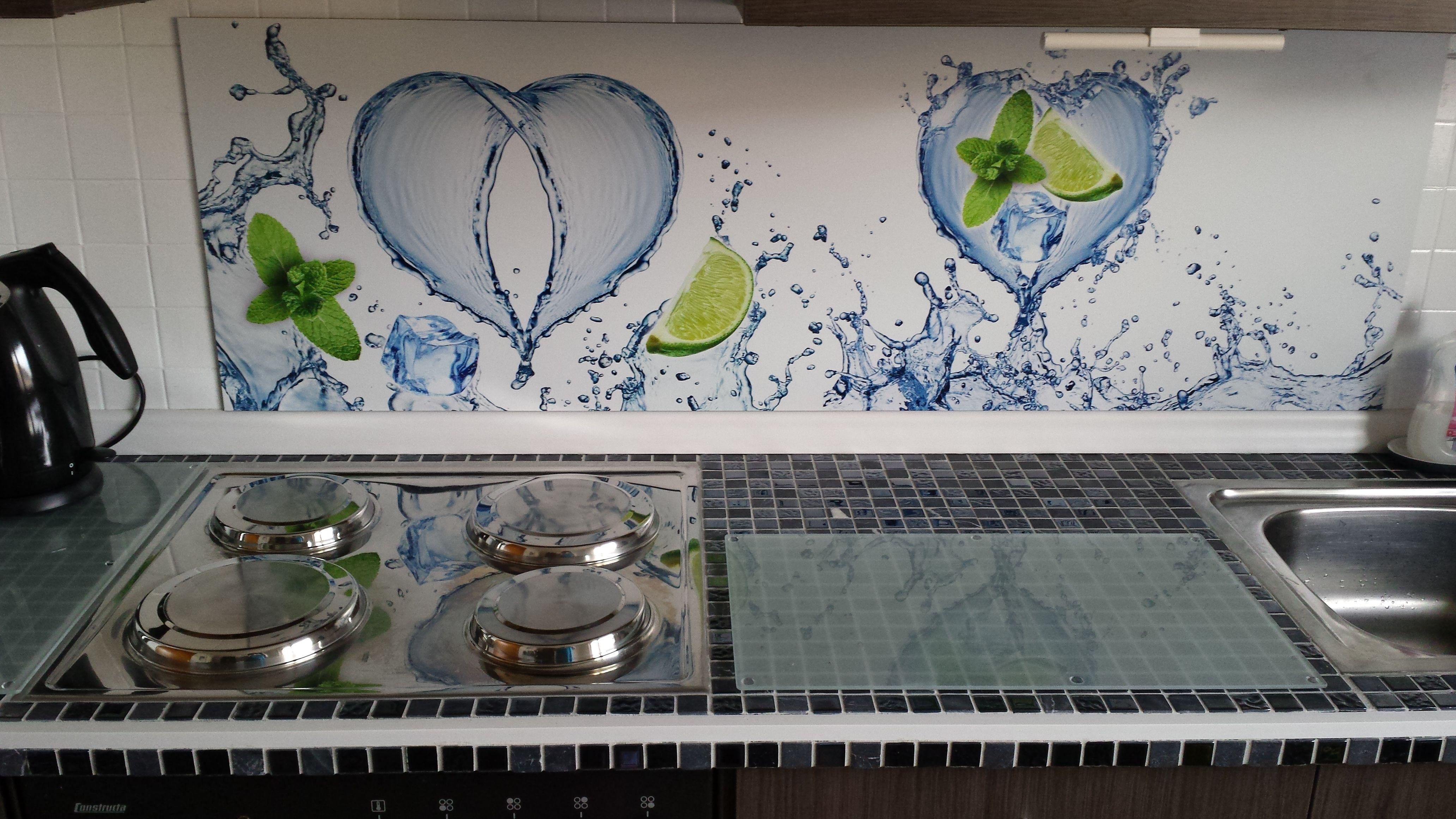 Pimp Your Kitchen Alte Arbeitsplatte Mit Mosaik Fliesen Beklebt Und