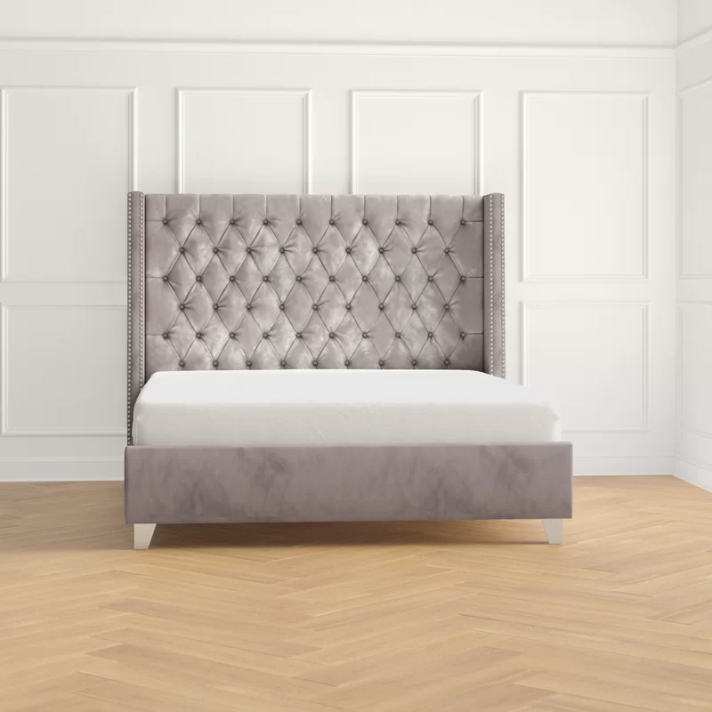 Jennie Upholstered Platform Bed Reviews Joss Main In 2020