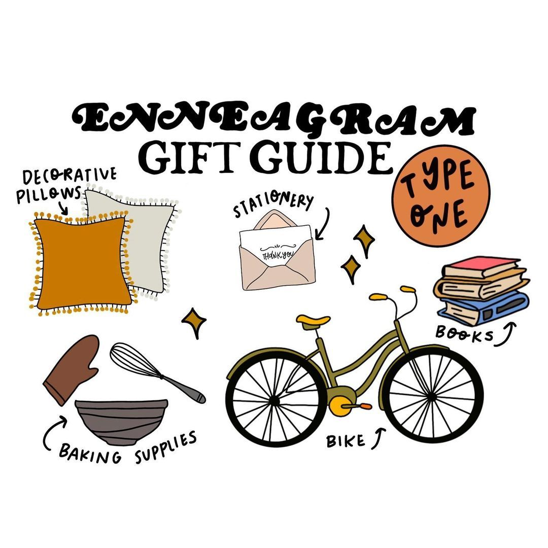 """Erin Roach on Instagram: """"Looking for last minute gifts? SWIPE ⭐️ to see what each type wants this year! #enneagram"""""""