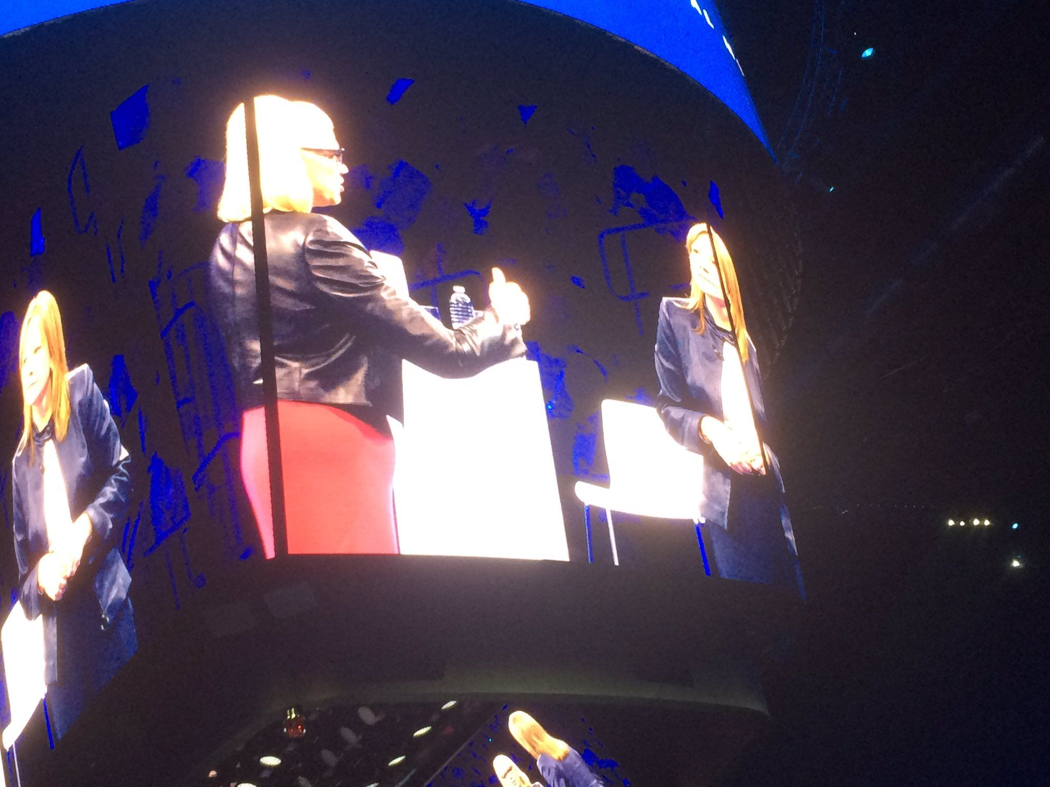 #analyze RT LauraCMeyer: Blown away to see these two amazing women on stage. GinniRometty  mtbarra #ibmwow http://pic.twitter.com/fKQh3Ps2TZ   Databases.W (@Databases4unow) October 26 2016