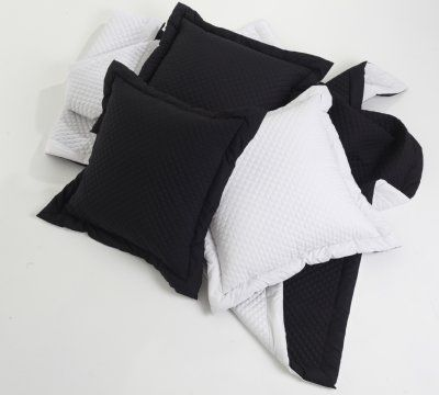 Diamond Quilt- love  black and white for kids