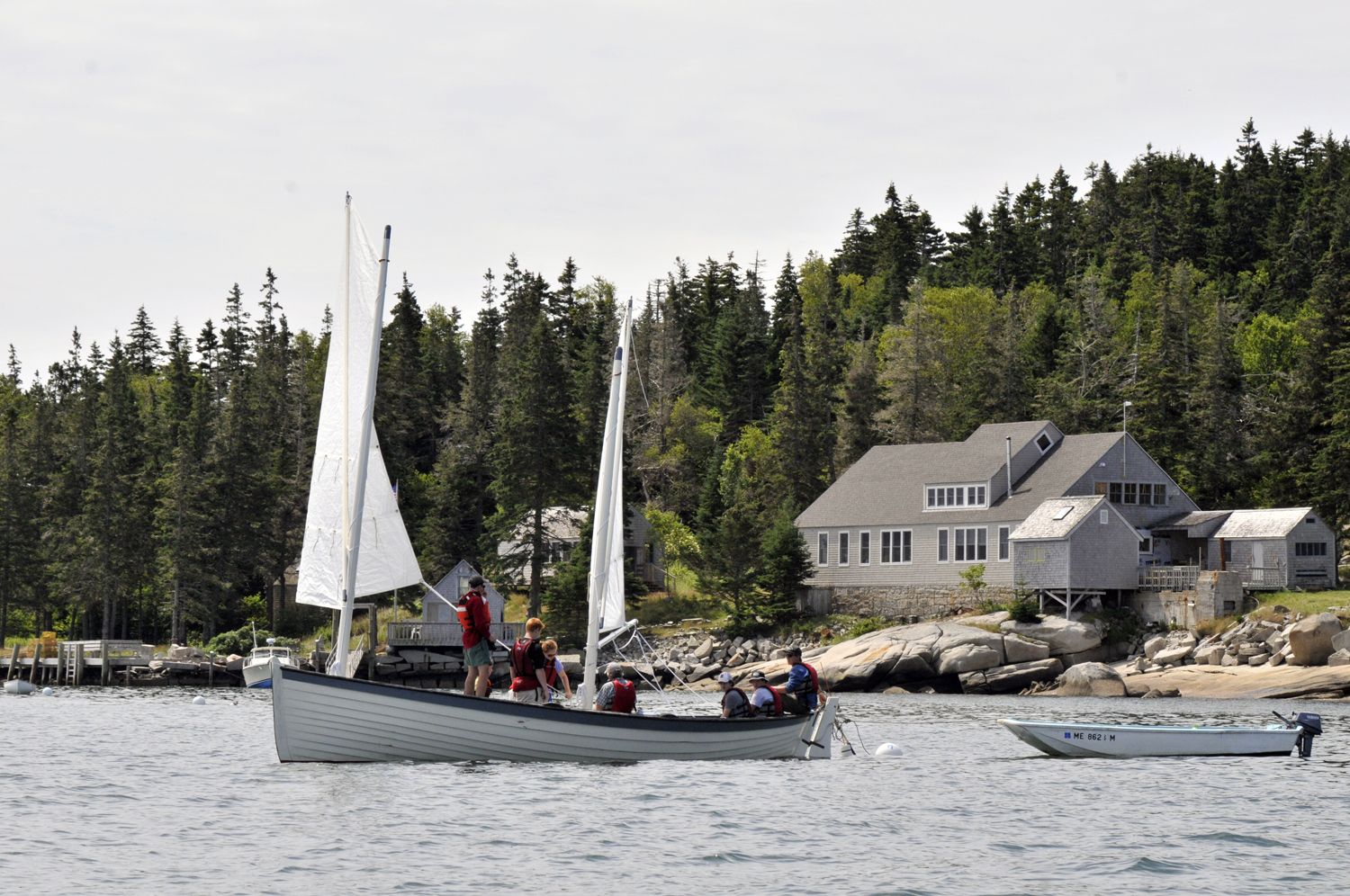 Our Maine Isle Program Incorporates Observation And