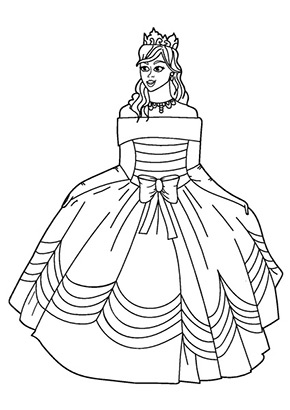 Ausmalbild Prinzessin Cadance Princess Printables Barbie Coloring Pages Princess Coloring Pages