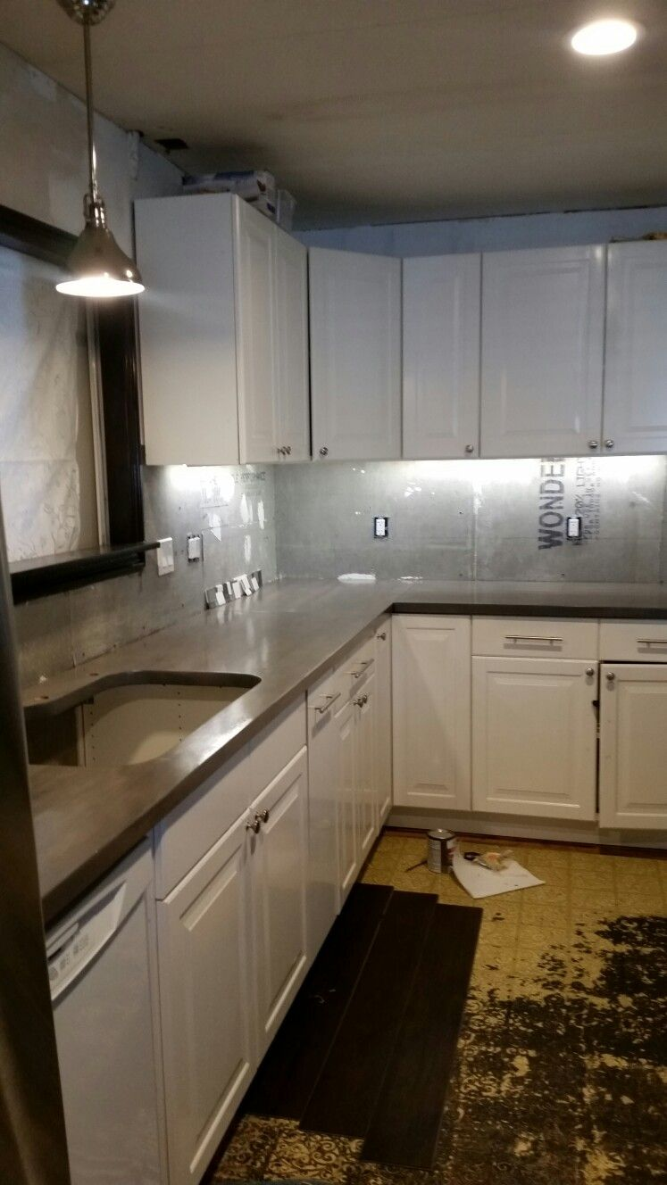 Butcher Block Grey Stained Countertops Dare To Be The