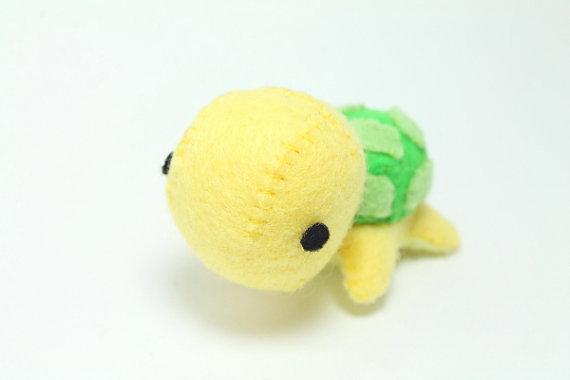 PDF Pattern - Felt Turtle Plush | Plushie Panic Aesthetic | Pinterest
